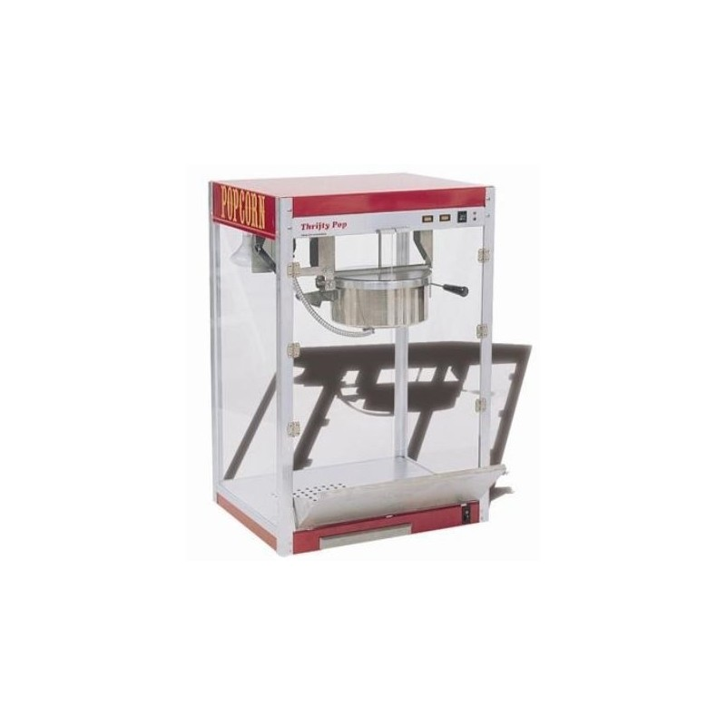 SOFRACA - Machine à Popcorn - Casserole Téflon - Débit: 4 Kg/Heure