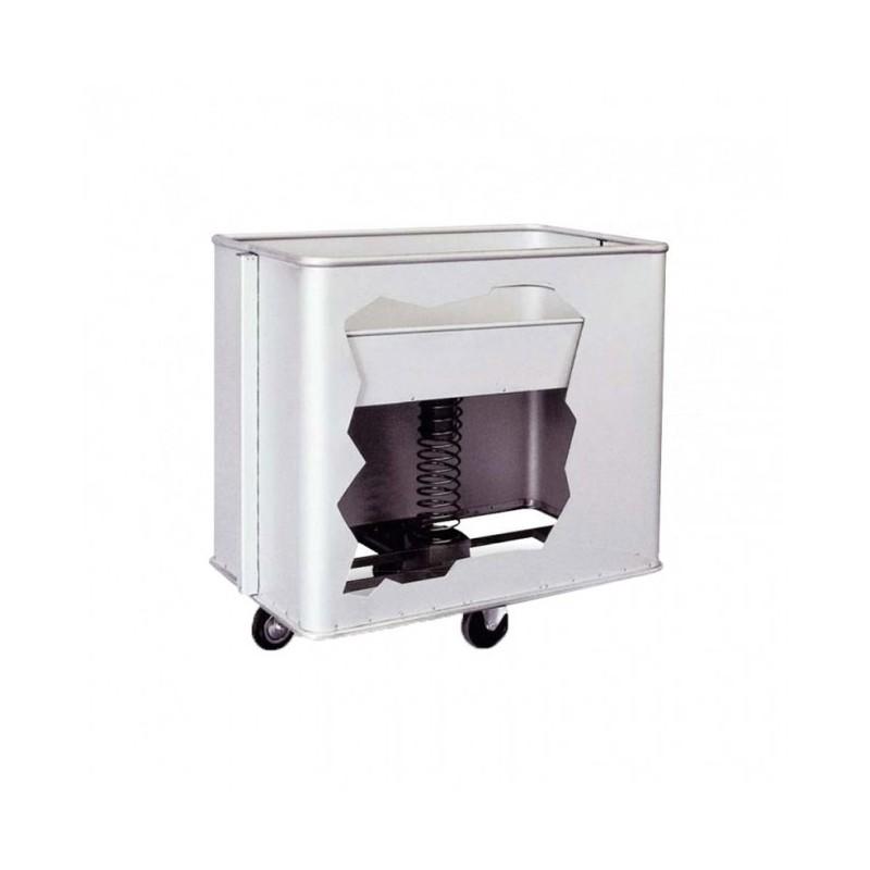 TECNOX - Chariot de blanchisserie fond mobile 40-50 kg - 336L