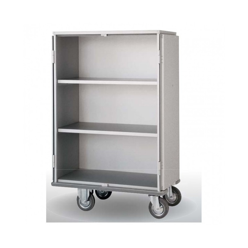 TECNOX - Chariot-armoire avec 2 étagères mobiles 883 L