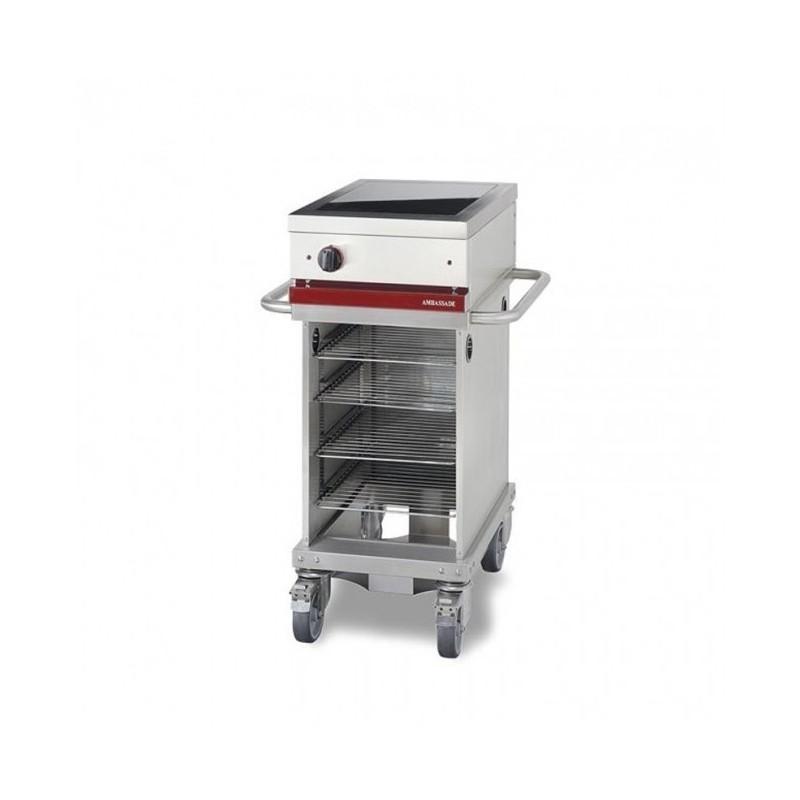 Table de cuisson électrique 1 foyer induction - 4 niveaux - cuisson mobile