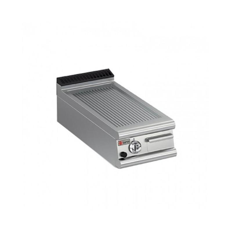 BARON - Grillade électrique nervurée - 350 x 500 - A poser