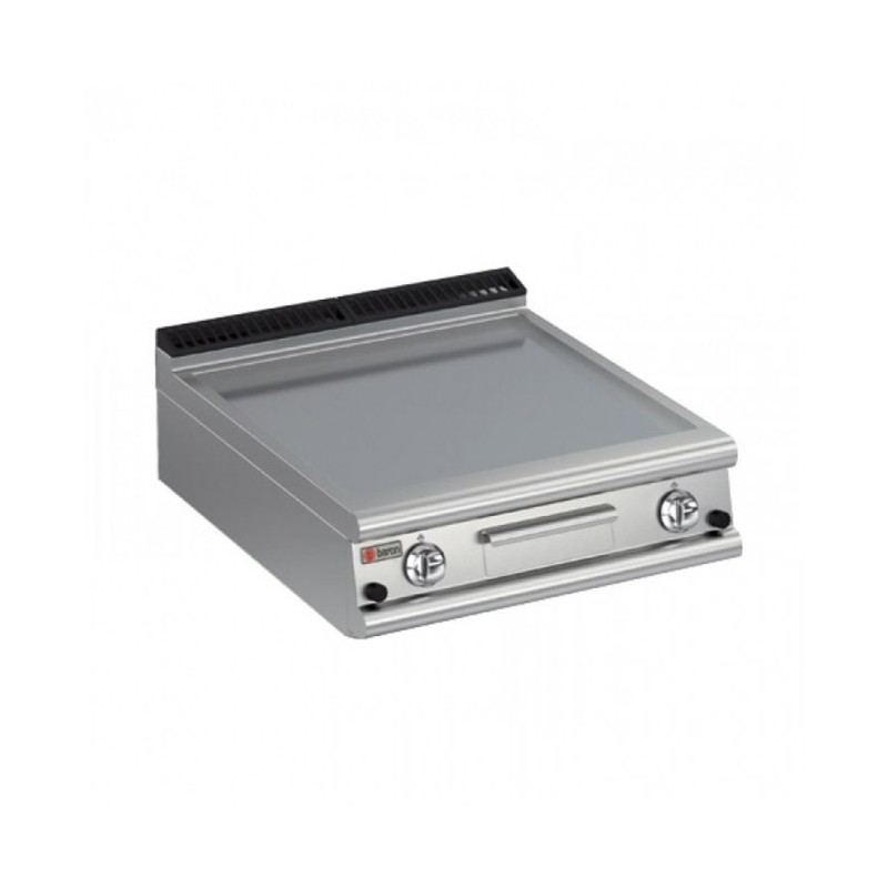 BARON - Grillade électrique lisse - 550 x 500 - A poser