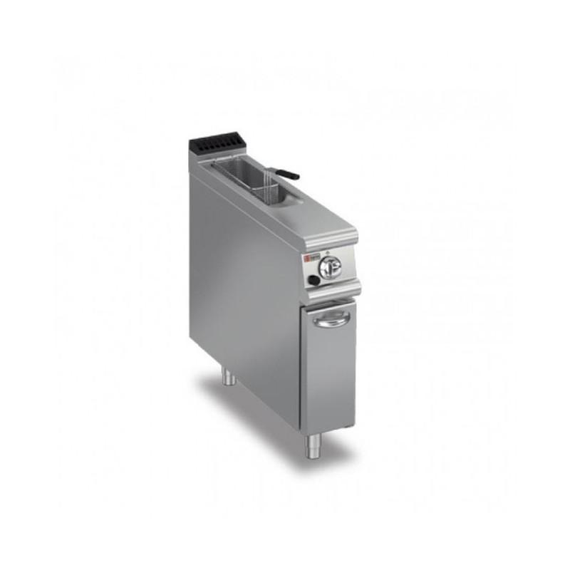 BARON - Friteuse monobloc gaz 7 L professionnelle