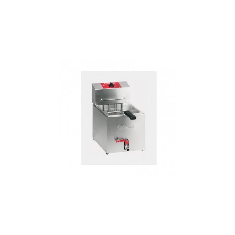 VALENTINE - Friteuse de table 7 L professionnelle - 3.6 kW - avec robinet