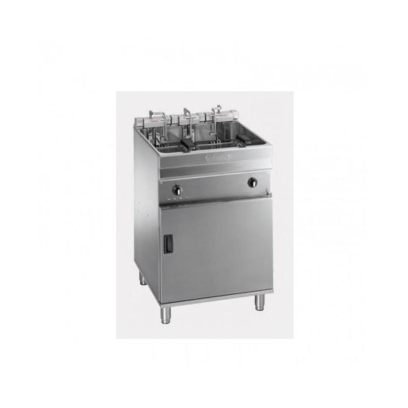 VALENTINE - Friteuse électrique sur coffre - 25/28 L professionnelle