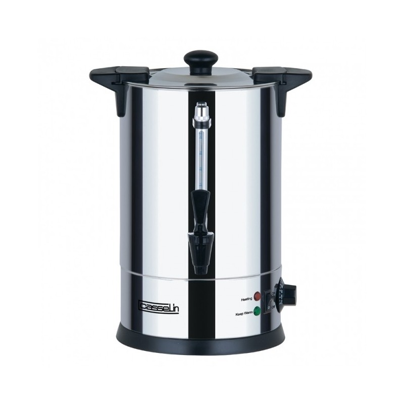 CASSELIN - Distributeur d'eau chaude inox, 6.8 L