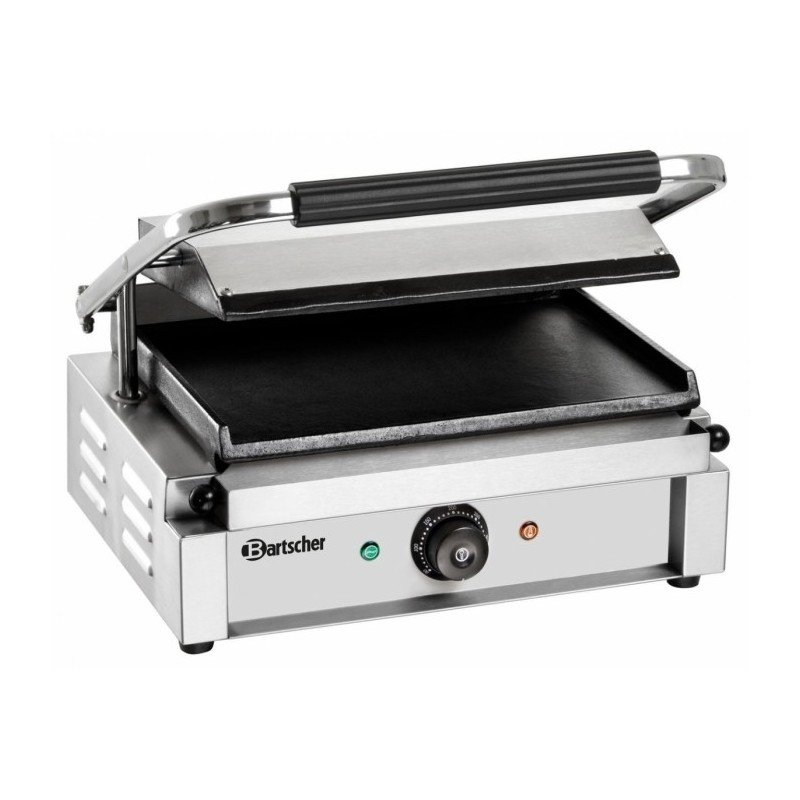 BARTSCHER - Grill panini nervuré/ lisse - petite surface