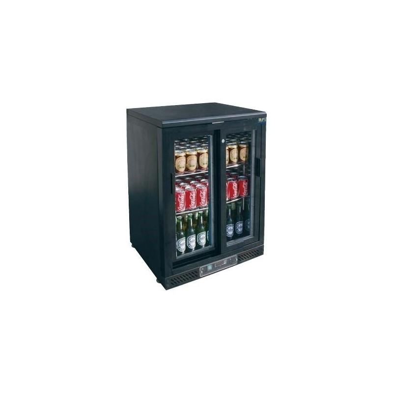CHR-AVENUE - Arrière bar réfrigéré skinplate 140 L, 1 porte coulissante