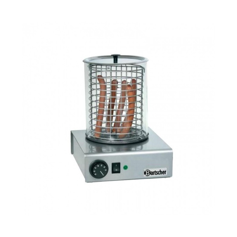 BARTSCHER - Chauffe saucisses - Appareil Hot Dog - 1.0 kW