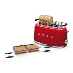 SMEG - Grille-pain 4 tranches - Noir