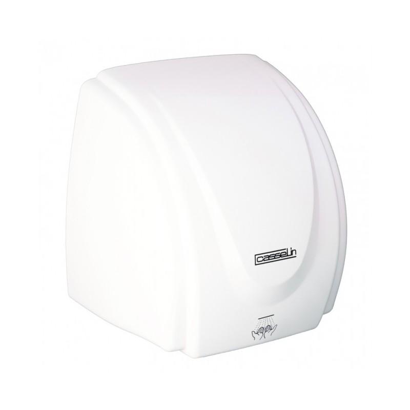CASSELIN - Sèche-mains mural en ABS blanc