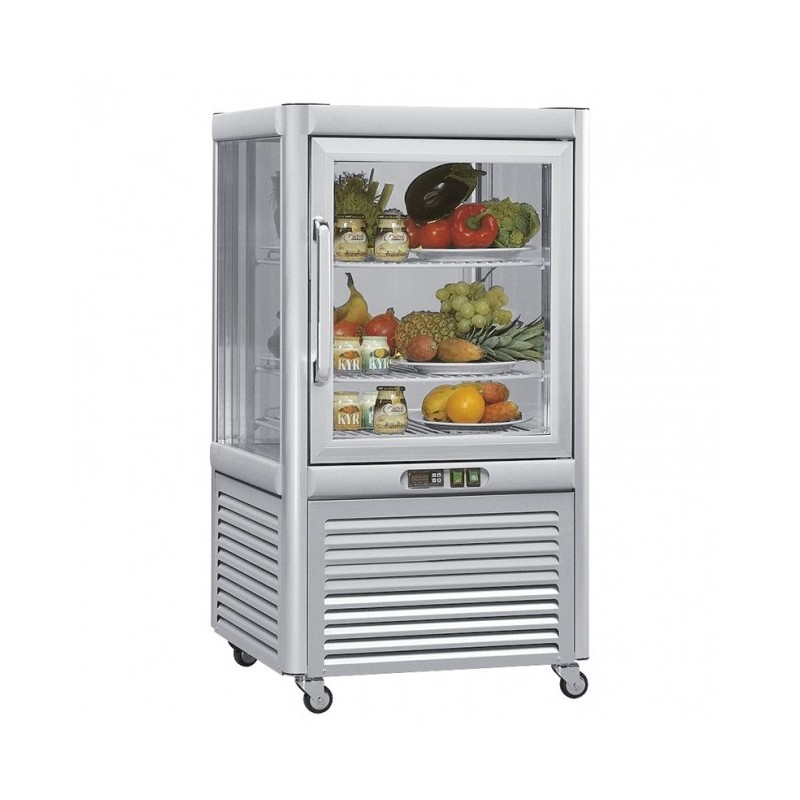 MEP - Vitrine réfrigérée ventilée - 200 L , +4°C à +10°C