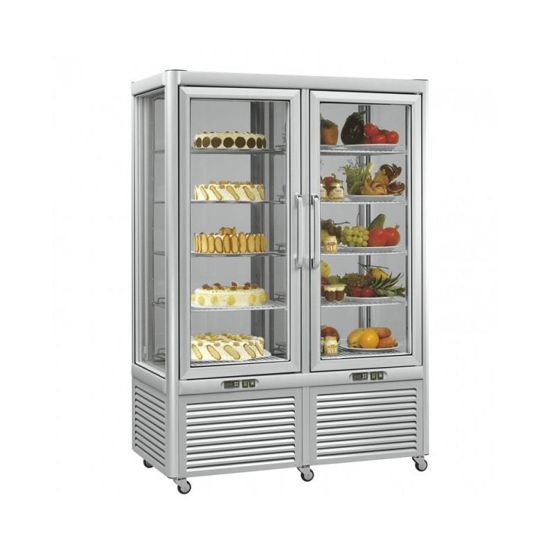 MEP - Vitrine réfrigérée ventilée et statique - 800 L
