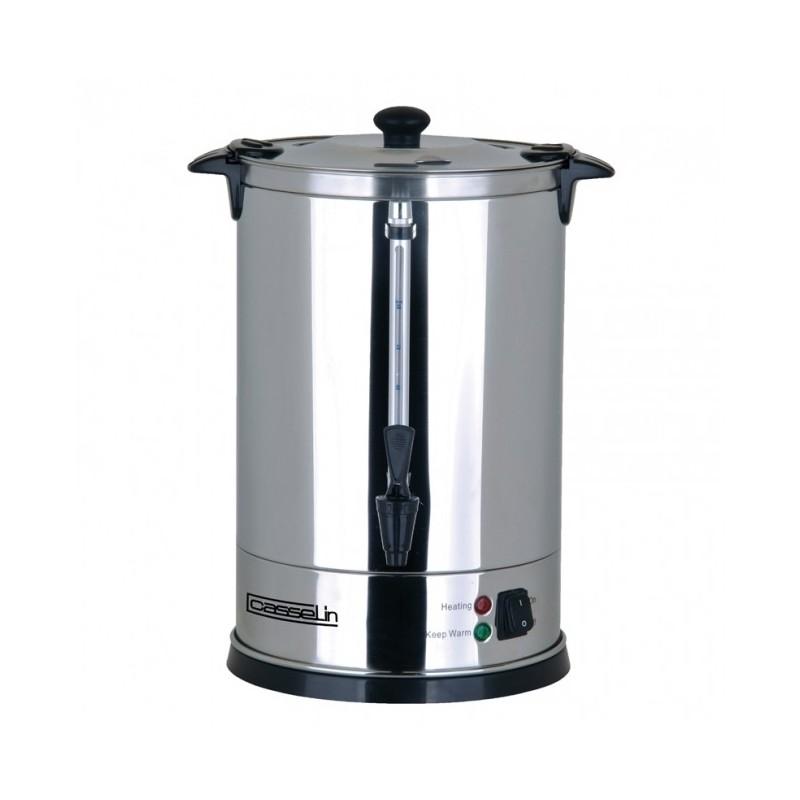 CASSELIN - Percolateur à café 60 tasses, paroi double et filtre inox