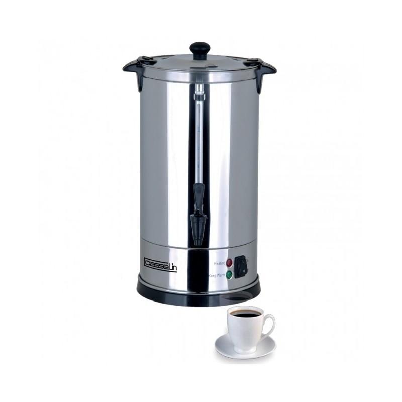 CASSELIN - Percolateur à café double paroi avec filtre inox, 48 tasses