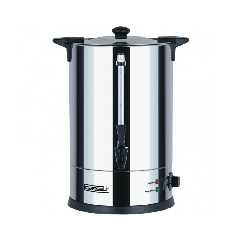 CASSELIN - Distributeur d'eau chaude inox, 10 L