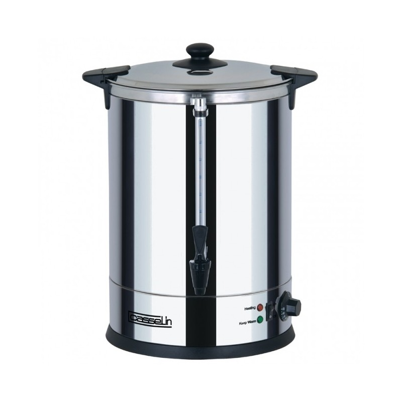 CASSELIN - Distributeur d'eau chaude inox, 20 L