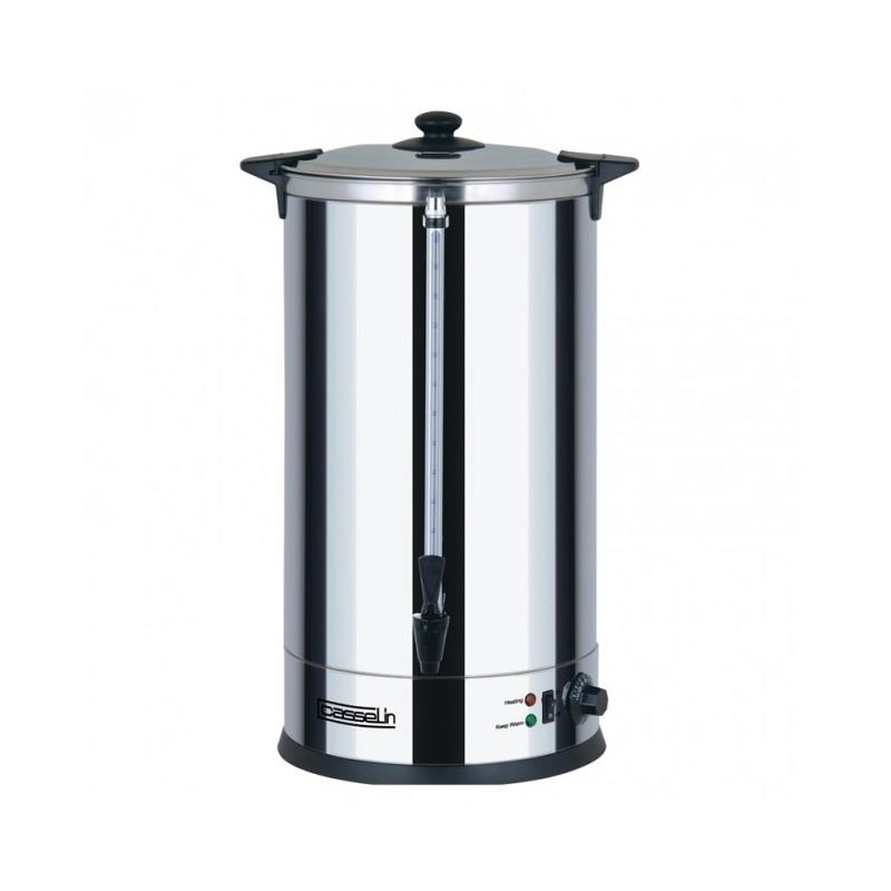 CASSELIN - Distributeur d'eau chaude inox, 30 L