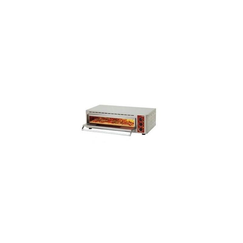 DIAMOND - Four à pizza électrique 600 x 400 mm ou Ø 330 mm - Pizza quick