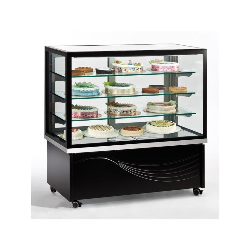 TECFRIGO - Vitrine réfrigérée spécial chocolat - 5 faces vitrées - capacité : 380L