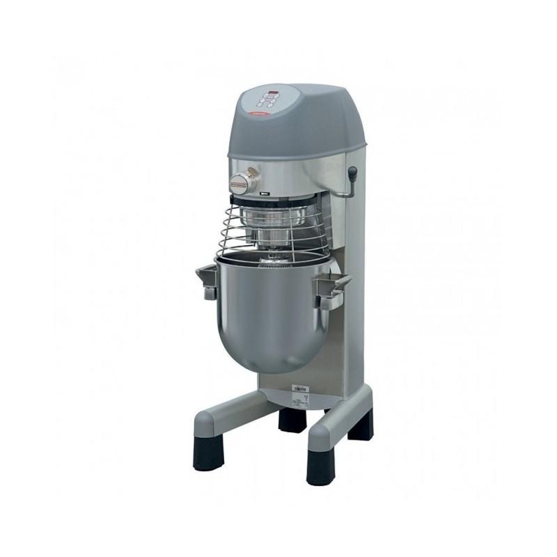 DITO SAMA - Batteur mélangeur électronique 30 L, colonne inox + prise acces.