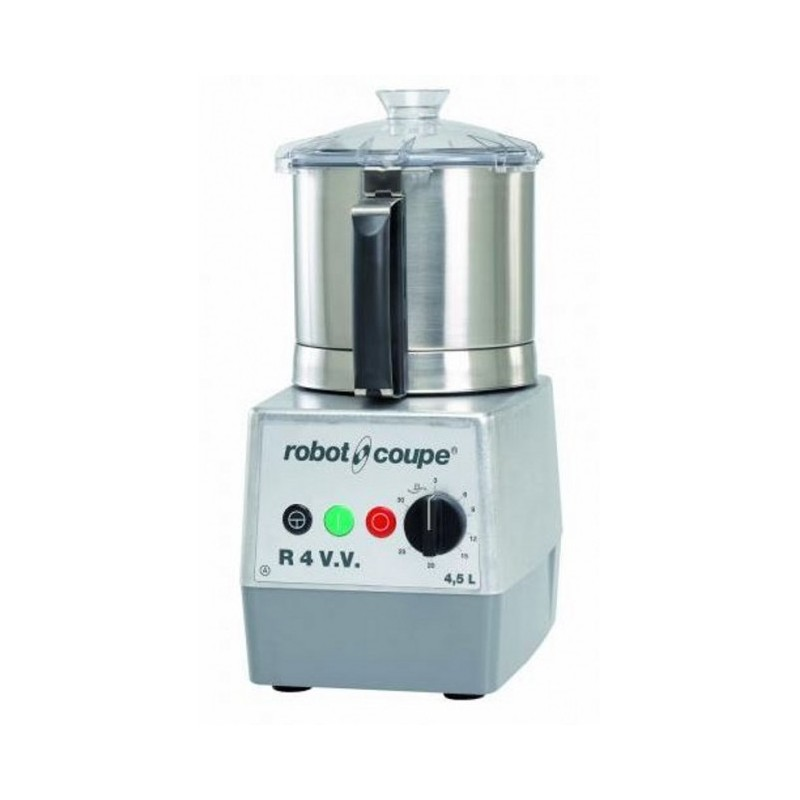 ROBOT-COUPE - Cutter de table - 4.5 L - vitesse variable - Monophasé