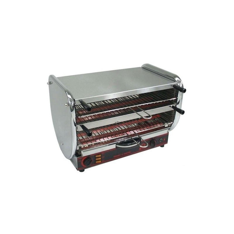 SOFRACA - Toasteur Senior - 2 niveaux - Capacité 10 à 12 pièces