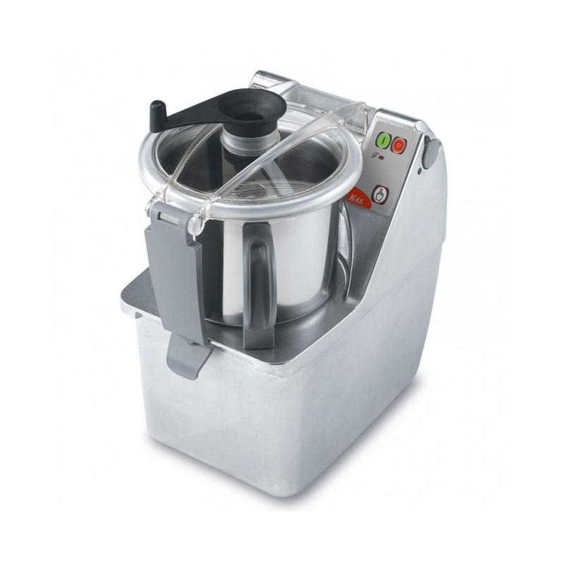DITO SAMA - Cutter mélangeurs/émulsionneur de table 4.5 L, 1 vitesse