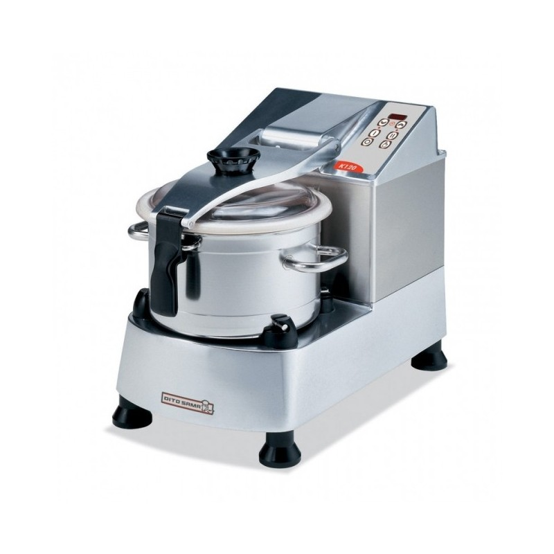 DITO SAMA - Cutter mélangeur/émulsionneur de table 11.5 L, 2 vitesses