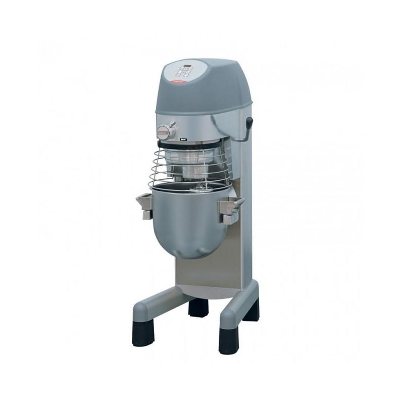 DITO SAMA - Batteur mélangeur sol à usage intensif 20 L + PA, électronique + c. inox