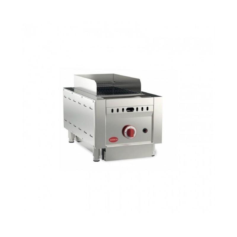 MIRROR - Grill barbecue à gaz - 255 x 425 mm - Viande et poisson