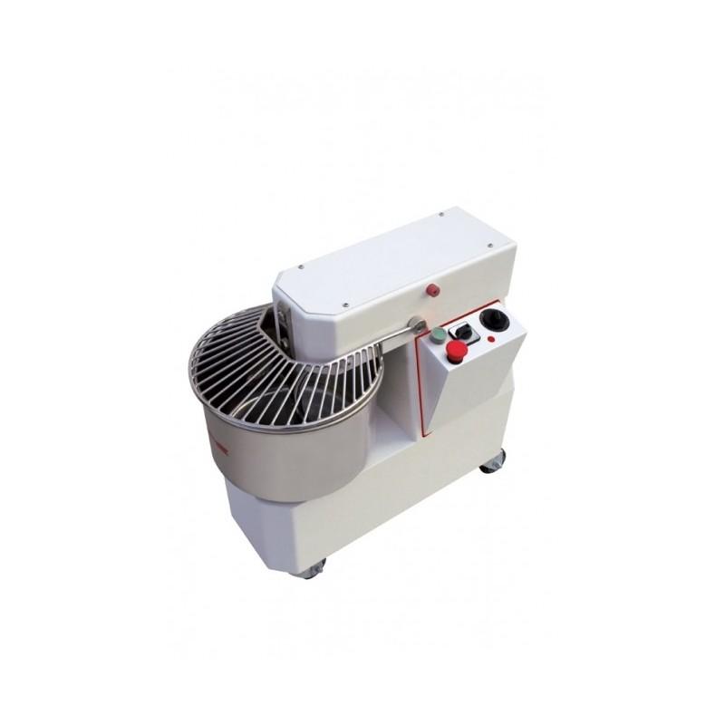 PIZZAGROUP - Pétrin à spirale tête et cuve fixes 33 L - 230 V - Vitesse variable