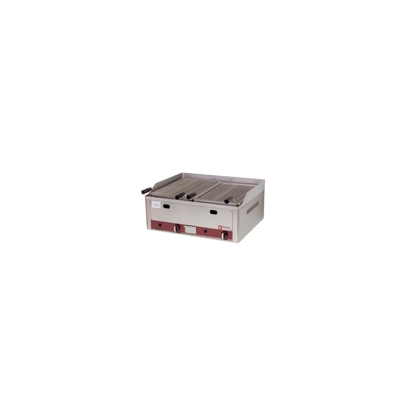 DIAMOND - Grill gaz pierre de lave 660x530 mm