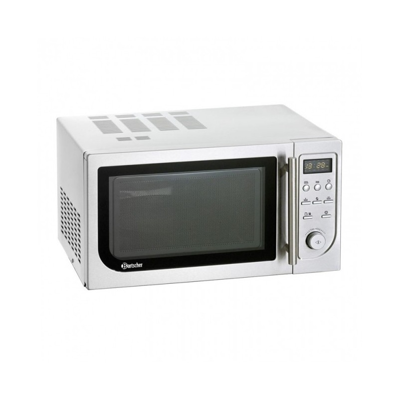 BARTSCHER - Four micro-ondes 25 L - Digitale - Air chaud et Grill