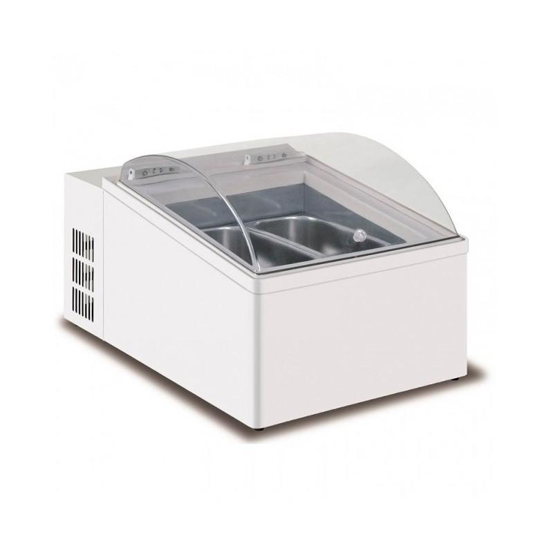 MONDIAL ELITE - Vitrine de comptoir négative 28.5 L - -10°C à -20°C