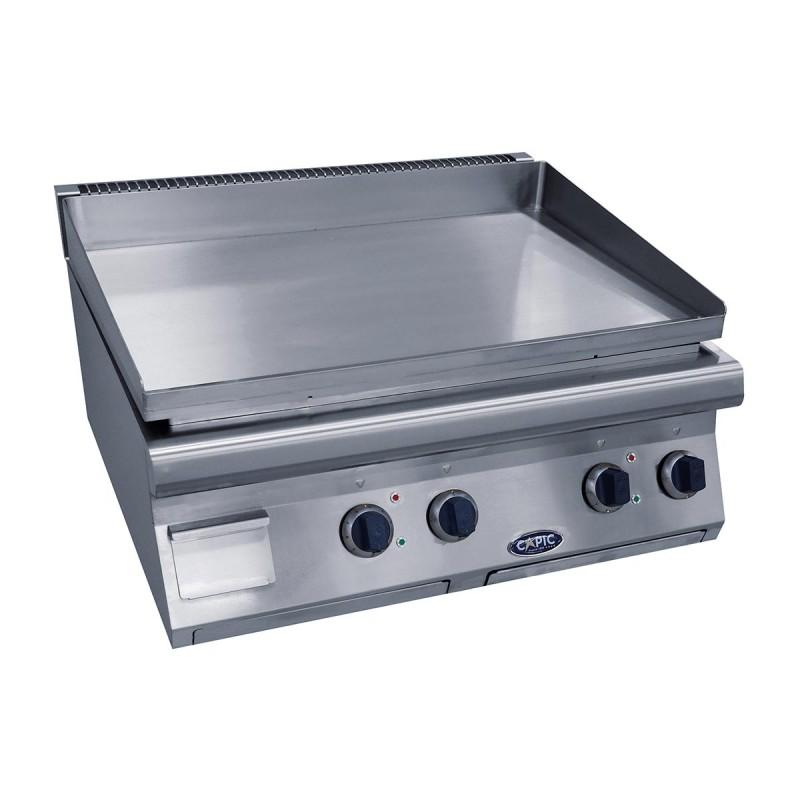CAPIC - Plaque à grillades électrique 800 mm (largeur)- Aven