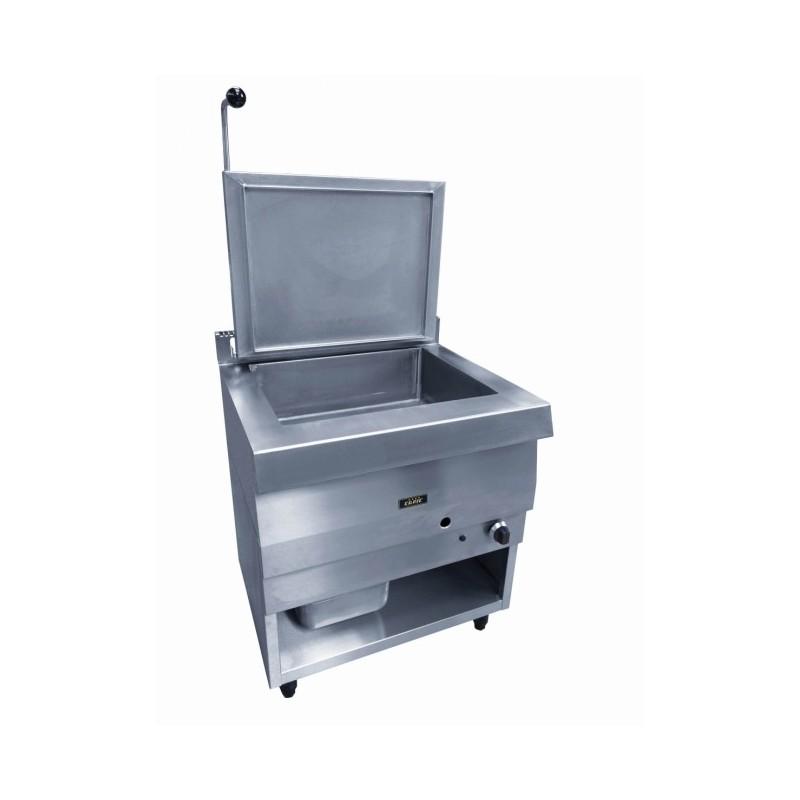CAPIC - Sauteuse fixe - gaz ou électrique - cuve inox 65 litres