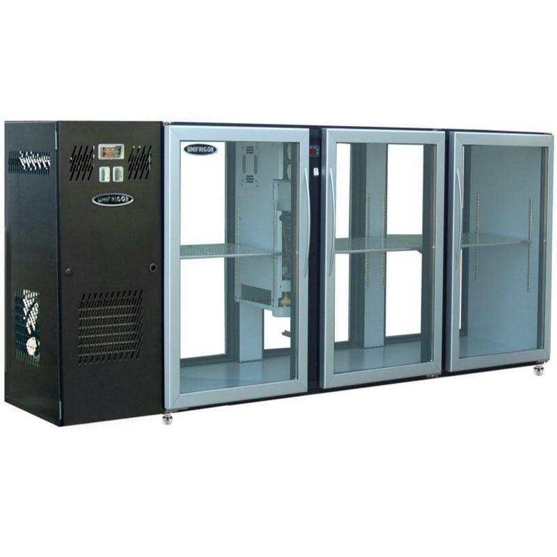 UNIFRIGOR - Arrière bar skinplate 6 portes vitrées traversantes P. 590