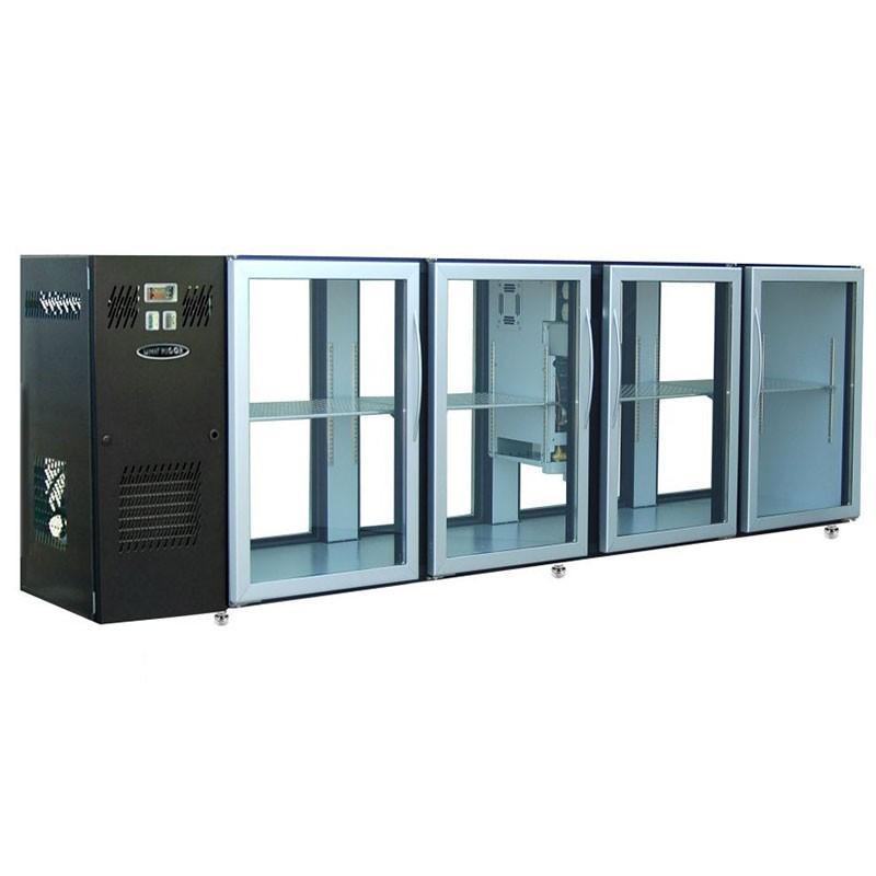 UNIFRIGOR - Arrière bar skinplate 8 portes vitrées traversantes P. 590