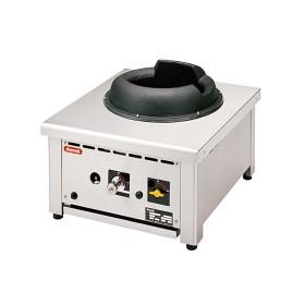 NAYATI - Wok à poser, brûleurs gaz avec couronne wok en fonte