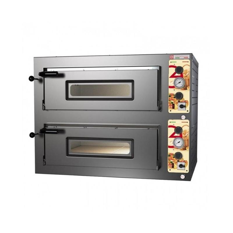 PIZZA GROUP - four à vapeur 2 x 4 pizzas Ø 33 - Four à pain