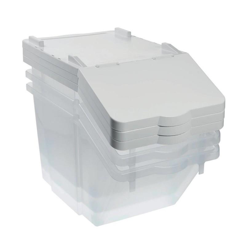 GILAC - Lot 3 bacs à ingrédients 30 L, emboîtables