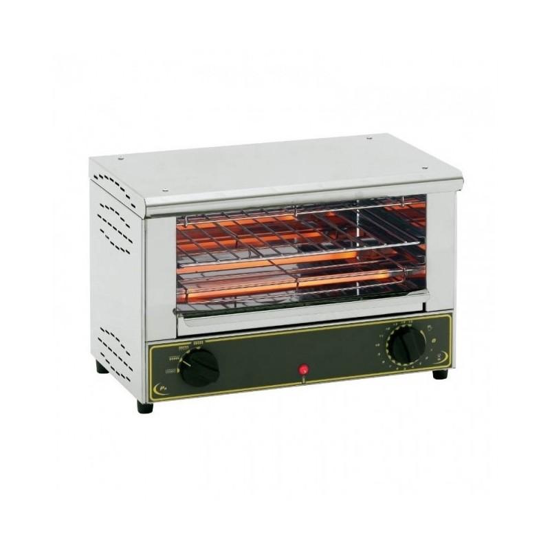 ROLLER GRILL - Toaster 1 niveau avec grilles protège-tubes