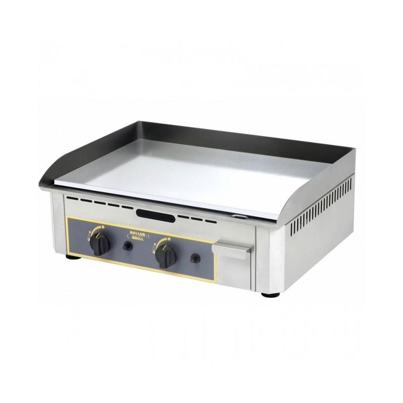 ROLLER GRILL - Plaque de cuisson chrome double - 600 x 400 mm