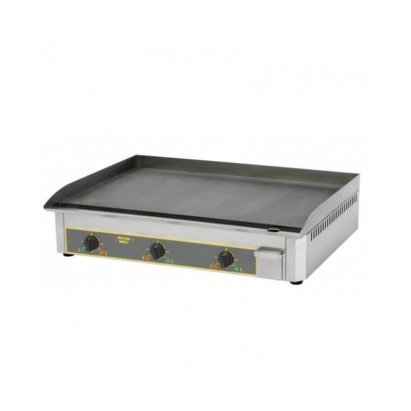 ROLLER GRILL - Plaque de cuisson chrome triple - 900 x 400 mm