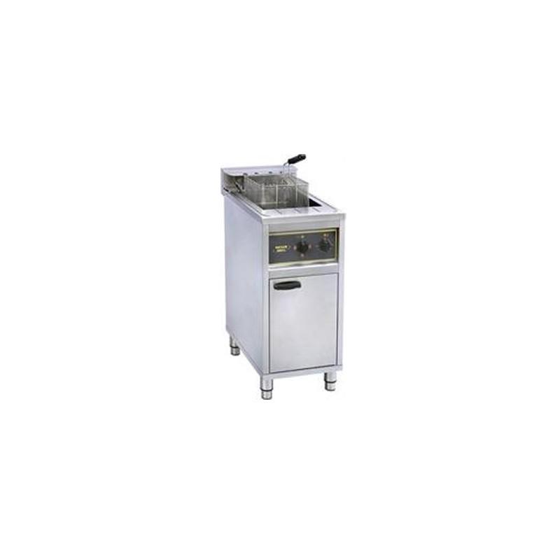 ROLLER GRILL - Friteuse sur coffre à zone froide - 16 L