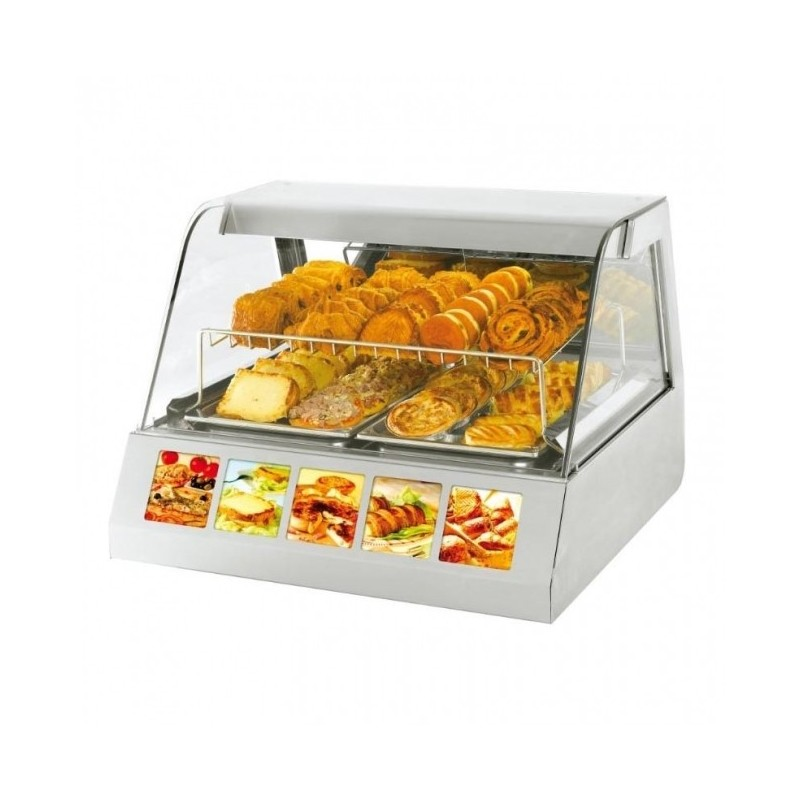 ROLLER GRILL - Vitrine à poser chaud - GN 1/1