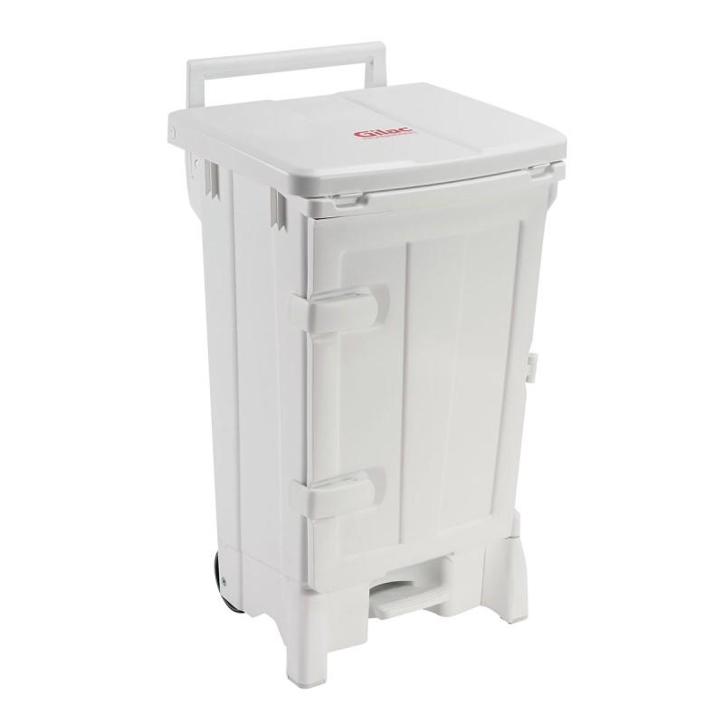 GILAC - Container polaris 90 L, avec pédale et couvercle