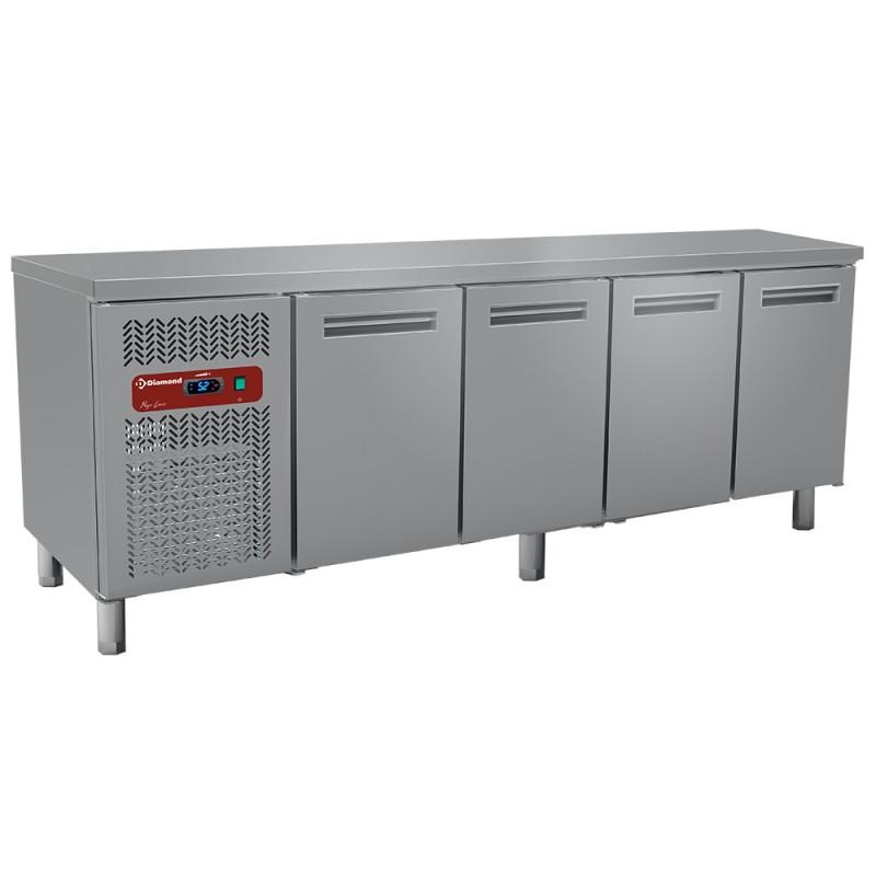 DIAMOND - Table réfrigérée positive 4 Portes GN 1/1 - Gamme 700