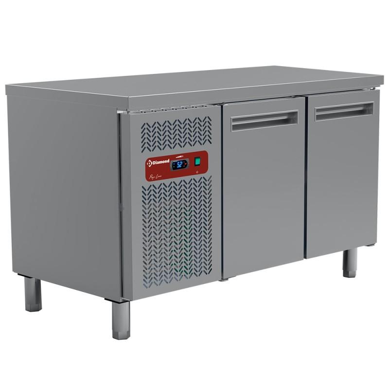 DIAMOND - Table réfrigérée positive 2 portes GN1/1 - Gamme 700